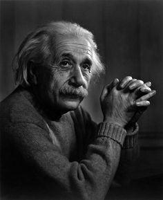 Albert Einstein -- by Yousuf Karsh, CC (Armenian: Յուսուֆ Քարշ; December 23, 1908 – July 13, 2002) an Armenian-Canadian photographer, and one of the most famous and accomplished portrait photographers of all time.