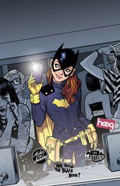Batgirlof Burnside by Cameron Stewart #selfie