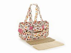 Beautiful Flowers Nylon Dog Totes Purse Puppy Carriers Bag Pet Carriers Purse Cat Handbag Doggy Cage BG-202FL