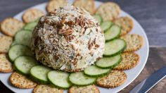 Follow a few key ingredient substitutions in this Spinach Parmesan Cheeseball recipe for a healthier app that's pretty and still packed with flavor.