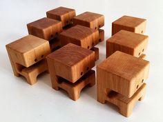 WAAGHBLOCK's - Alder Wood Toy Series by Pepe Hiller