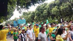Em Governador Valadares-MG a manifestação do dia 13março2016.