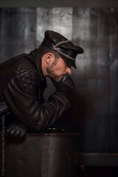 #Leathermen Daily Life #113 Vantage Point. Hmm… Him? He looks nice, it's true… Or him? Pretty cute arse as well… Both? Fuck! Hard to choose.