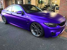 BMW F82 M4 matte purple                                                                                                                                                                                 More
