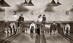 1914 - Sistema antigo de boliche
