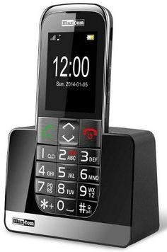 """MaxCom MM720BB este un telefon modern, cu un display de 2,2"""", conceput pentru persoanele în vârstă.   Pentru a maximiza ușurința de utilizare a dispozitivului, telefonul are taste mari și iluminate și un meniu simplu cu font mare.   Butonul SOS permite conectarea automată la numerele predefinite și trimite un SMS cu un mesaj definit."""