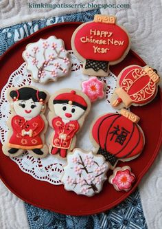 Chinese New Year Cookies | Cookie Connection