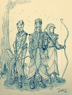 Menegroth soldiers by DracarysDrekkar7.deviantart.com on @DeviantArt