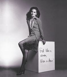DVF | 1974: The wrap dress is born