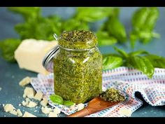 Basil Pesto is simple enough to make but this recipe for the BEST Basil Pesto has a few tricks that make it absolutely outstanding.