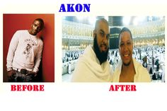 Akon after became a Muslim