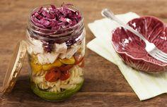 Salada de frango e macarrão ao pesto (REAPROVEITAMENTO) | Panelinha - Receitas que funcionam