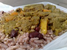 jamaican food | The Travelling Hungryboy: Jamaican Curry Lamb from Brixton