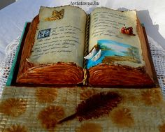 Könyv torta