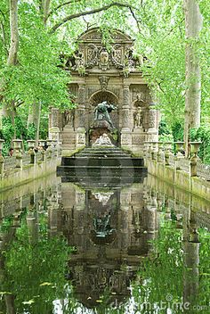 Medici Fountain at Luxembourg Garden, Paris