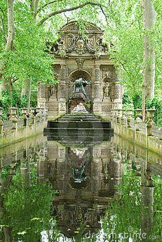 Medici Fountain at Luxembourg Garden, Paris