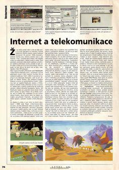 Jak vypadala internetová komunikace ve svých počátcích? :) Už tenkrát existoval Iphone, i když význam, byl trochu jinde ;)