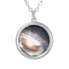 Bursting with Stars and Black Holes Custom jewelry necklace
