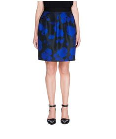 CUE - Printed Jacquard Full Skirt - A favourite from the Spring/Summer 2014-15 range.  Pretty and practical! :)