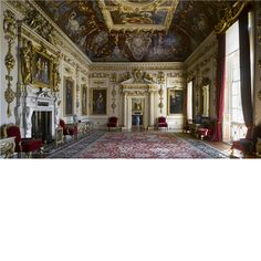 Wilton House ~ The Double Cube Room at Wilton House designed by John Webb.
