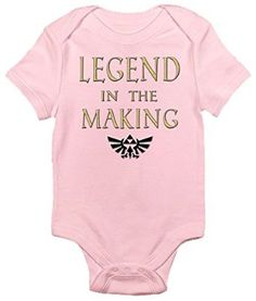 Look Zelda Moms & Dads! Legend Baby Onesies Available in 3 colors at http://www.amazon.com/Legend-Making-One-piece-Bodysuit-Romper/dp/B012C06W6G/ref=sr_1_1?ie=UTF8&qid=1438406239&sr=8-1&keywords=baby+onesies