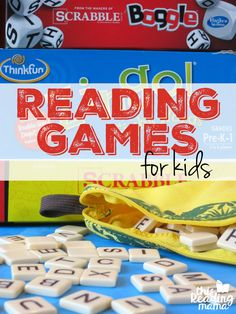 Reading Games for Kids - Board Games that Build Reading Skills - This Reading Mama