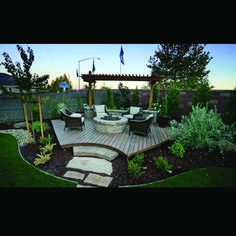 Are you looking for how to build floating deck plans step by step guide? I have here how to build floating deck plans guide you will love. Backyard Projects, Outdoor Projects, Backyard Patio, Backyard Landscaping, Firepit Deck, Paved Backyard Ideas, Corner Landscaping Ideas, Arizona Backyard Ideas, Corner Patio Ideas