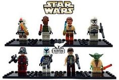 $16,99  DESO® 8pcs/Set STAR WARS Collection Sith Jedi Knight Clone Wars Soldiers Troopers Darth Vader C-3PO Darth Maul Bricks Blocks Super Hero Figures Minifigures Toys with Card Compatible Wit...