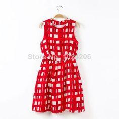 Summer 2014 New Arrival Ladies Women's Mini Dress Chiffon Sleeveless Causal dresses Size Feet Cute Fashion dresses $19.99