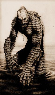 CREATURE FROM THE BLACK LAGOON by aka-maelstrom.deviantart.com on @DeviantArt