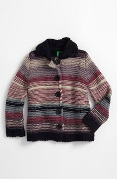 United Colors of Benetton Kids Cardigan Sweater (Infant) available at #Nordstrom