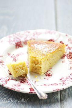 Buttermilk, lemon and ricotta cake. Light and soft [recipe in French and Italian]