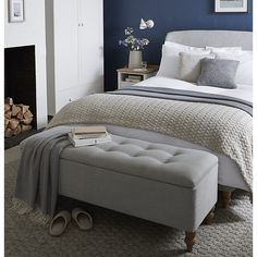 John Lewis storage foot stool