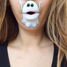 Really funny pictures Lip Art, Lipstick Art, Anime Halloween, Halloween Make Up, Halloween Face Makeup, Halloween Painting, Mouth Painting, Body Painting, Really Funny Pictures