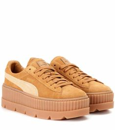 FENTY BY RIHANNA Cleated Creeper suede sneakers €94 Suede Trainers aedce49d5