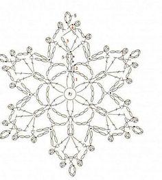 Вязаные снежинки . Обсуждение на LiveInternet - Российский Сервис Онлайн-Дневников