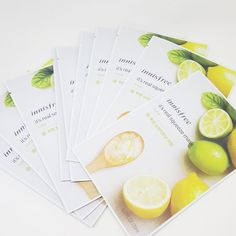 Innisfree It's Real Squeeze Facial Masks Lime 20ml 3/8/16/35 Sheets Lot Korea #Innisfree
