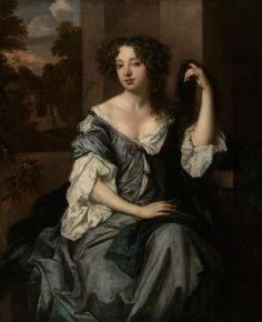 Peter Lely's Portrait of Louise de Keroualle. Lines and Colors: http://linesandcolors.com/2016/11/15/eye-candy-for-today-peter-lelys-portrait-of-louise-de-keroualle/