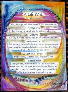A life wish