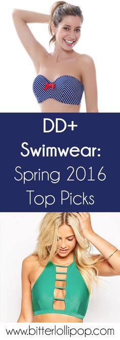 Check out our latest blog post with new DD+ swimwear picks for 2016! Swimsuits for bigger busts. http://www.bitterlollipop.com/blogs/blog/91121606-dd-swimwear-spring-2016-top-picks