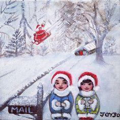 'Join hearts for diversity' with Mei+Kenji and friends. Kokeshis travelling the world on cultural and romantic adventures White Christmas, Romantic, Culture, Photo And Video, Art Prints, Creative, Cards, Santa, Fictional Characters
