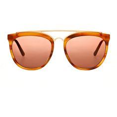 aa6b99cb9f2 Smoke   Mirrors Volunteers of America Sunglasses - Brown Sunglasses -  ShopBAZAAR