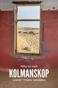 Why to visit Kolmanskop, ghost town in southern Namibia Safari, Namibia, Slow Travel, Travel Tips, Africa Travel, Ghost Towns, Trip Planning, Adventure Travel, Travel Inspiration