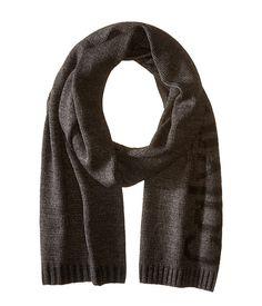CALVIN KLEIN Plaited Logo Scarf. #calvinklein #scarves