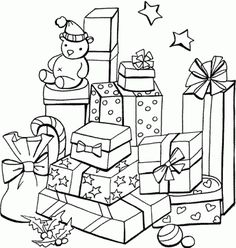 Free printable coloring pages for kids. High quality coloring book pages and preschool coloring pages. Color online or print out and color now! Coloring Pages To Print, Coloring Book Pages, Printable Coloring Pages, Coloring Pages For Kids, Coloring Worksheets, Kids Coloring, Free Coloring, Christmas Colors, Christmas Art