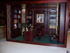 The Morning Room (smaller family dining room) is roughly the same size as the guest bedroom on the opposite end of the house. Description from lori-majesticmansiondollhouse.blogspot.com. I searched for this on bing.com/images