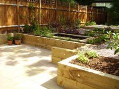 Garden Ideas On Two Levels split level low maintenance garden | tim mackley garden design