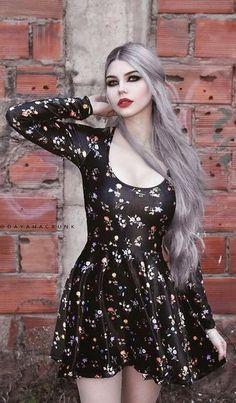 Model: Dayana Crunk * pastel goth, pastel hair, goth, goth girl, goth fashion, goth makeup, goth beauty, dark beauty, gothic, gothic fashion, gothic beauty, sexy goth, alternative models, gothicandamazing, gothic and amazing, готы, готическая мода, готические модели, альтернативные модели #EmoFashion
