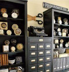 Neutral Vintage Office