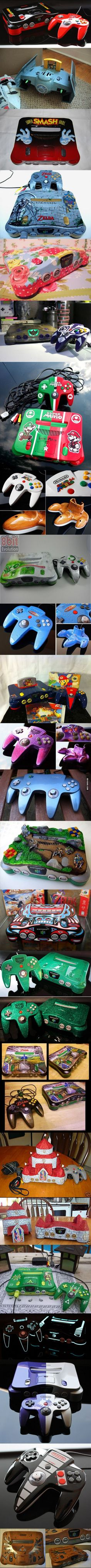 AMAZING Custom Painted Gaming Gear!!!